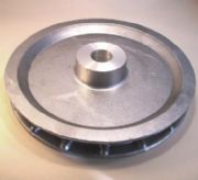 "Aluminium Chainwheel, 9"", to suit 1"" steel shaft and our standard handchain"